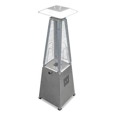 AZ Patio Heaters 39-Inch Steel Table Top Glass Tube Heater