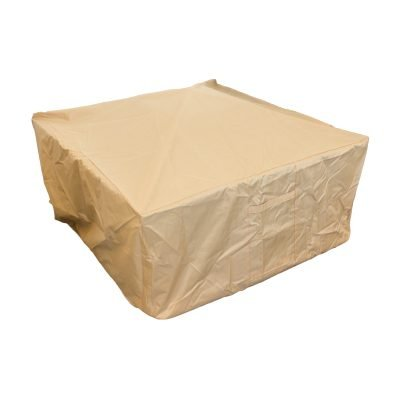AZ Patio Heaters Heavy Duty Square Wood Fire Pit Cover
