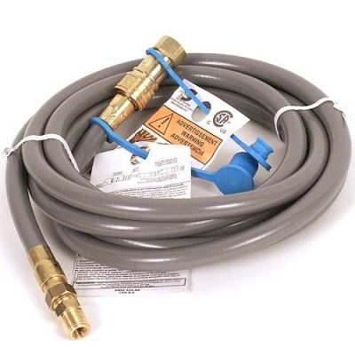 AZ Patio Heaters 12' Natural Gas Quick Connect Hose