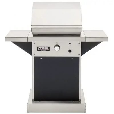 TEC Patio FR 26-Inch Black Pedestal Infrared Grill