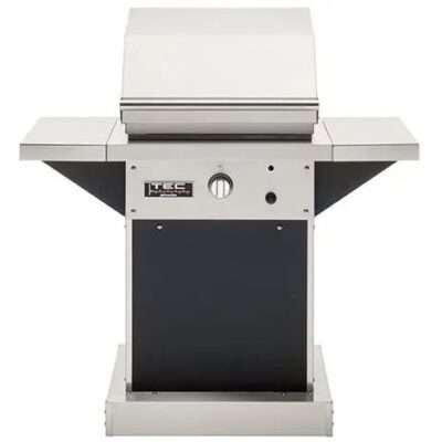 TEC Patio FR 26-Inch Black Pedestal Infrared Grill