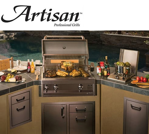 artisan grills at the outdoor store