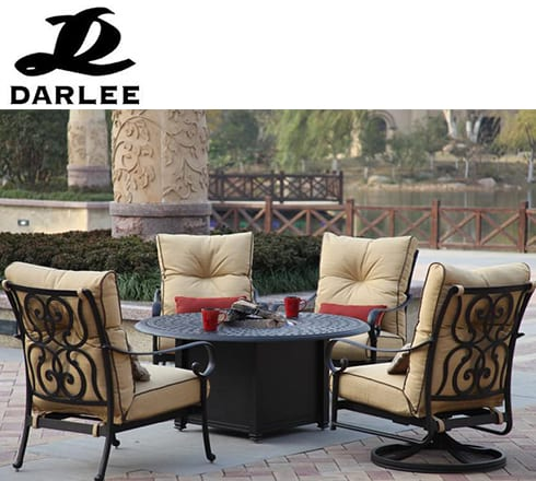 darlee patio furniture at the outdoor store