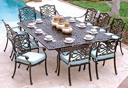 Patio Furniture Outdoor Dining And Bar Sets Lounges Umbrellas