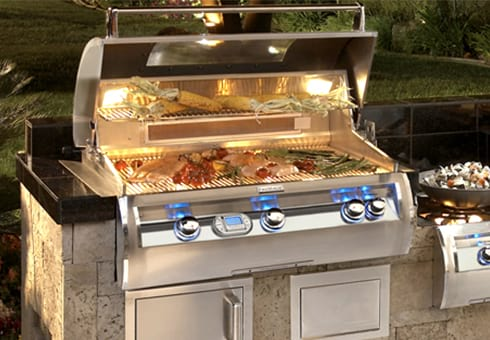 gas grills at the outdoor store