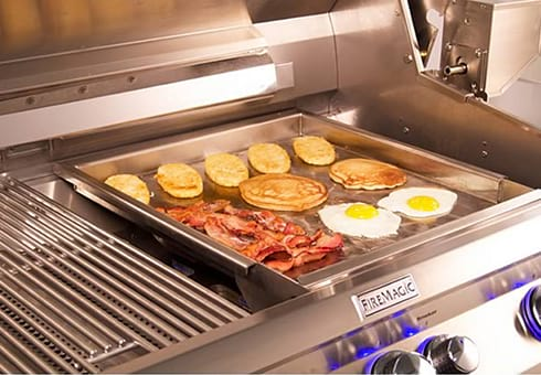 outdoor gas grill griddles at the outdoor store