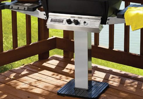 grill carts and grill posts at the outdoor store