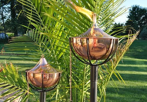 patio torches at the outdoor store