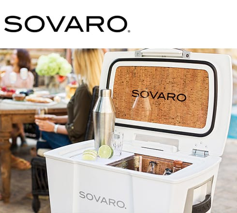 sovaro coolers at the outdoor store