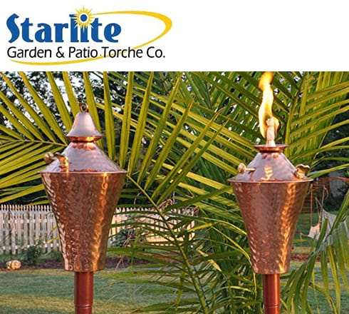 starlite garden & Patio Torche Co. at the outdoor store