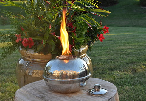 tabletop torches at the outdoor store