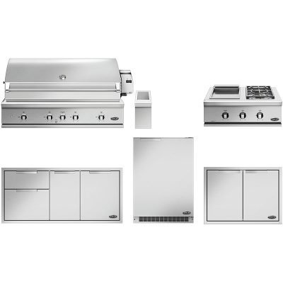 DCS 6-Piece Outdoor Kitchen Package