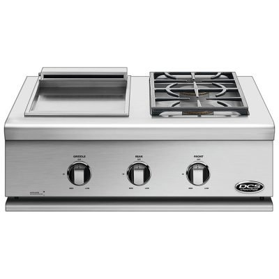 DCS Series 7 Griddle and Side Burner