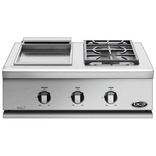 DCS Series 7 Liberty Griddle and Side Burner