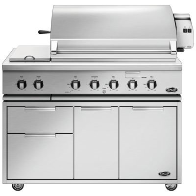 DCS Series-7 48-Inch Deluxe Freestanding Grill