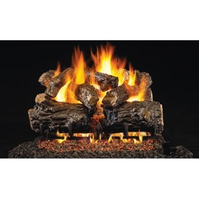 Real Fyre Burnt Rustic Oak