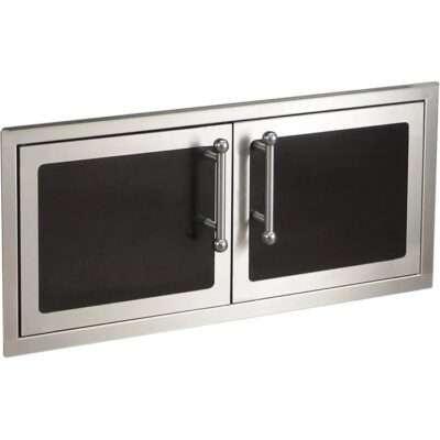 Fire Magic 39-Inch Black Double Access Door