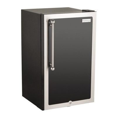 Fire Magic 20-Inch Black Refrigerator