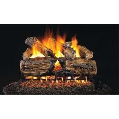 Real Fyre Burnt Split Oak