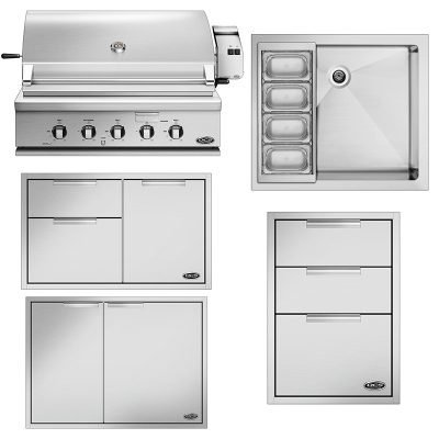 DCS 5-Piece Outdoor Kitchen Package