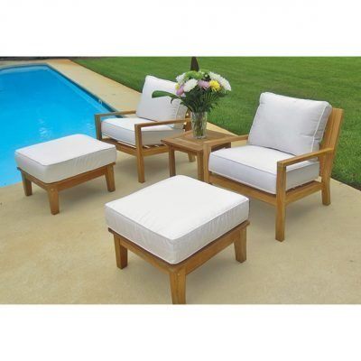 Royal Teak Collection 5-Piece Conversation Set