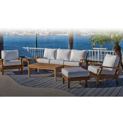 Royal Teak Collection 6-Piece Conversation Set