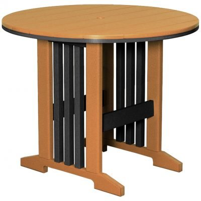 Finch Keystone 60-Inch Round Counter Table