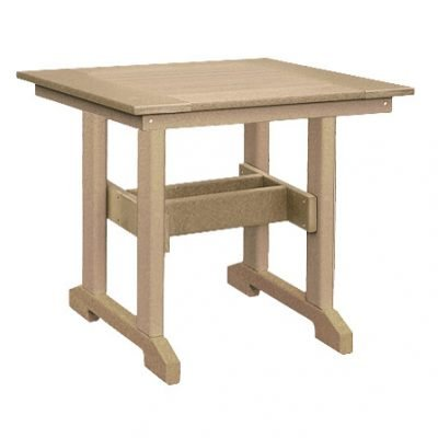 Finch Great Bay 29-Inch Square Dining Table