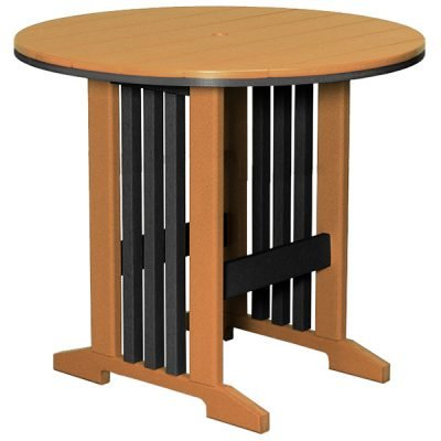 Finch Keystone 60-Inch Round Bar Table