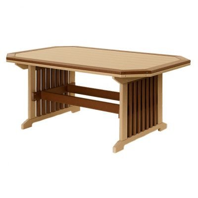 Finch Mission 35x48-Inch Border Table