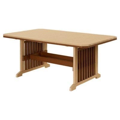 Finch Mission 45x72-Inch Table