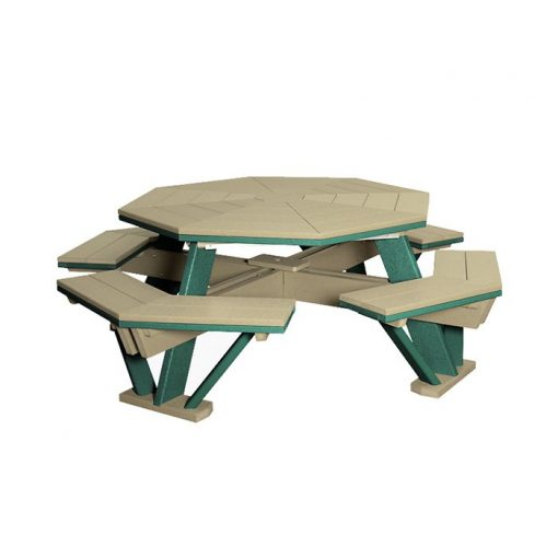 Finch 58-Inch Octagon Picnic Table