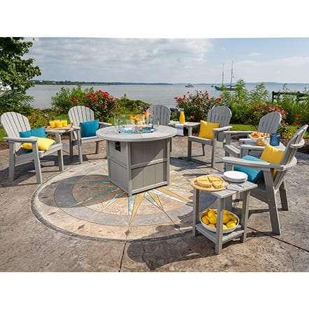 Finch 11-Piece Fire Table Set