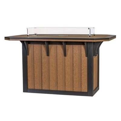 Finch SummerSide 72-Inch Bar Fire Table
