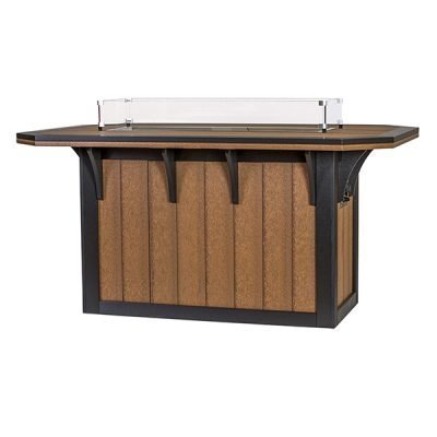 Finch SummerSide 72-Inch Counter Fire Table