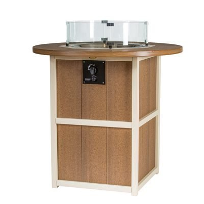Finch SummerSide Round Bar Fire Table