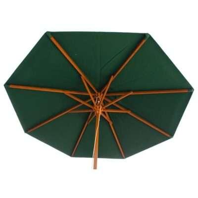 Finch 7-Foot Wood-Framed Umbrella