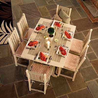 Finch 7-Piece Keystone Dining Set