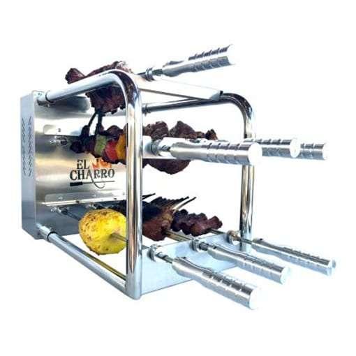 El Charro Brazilian BBQ Rotisserie Grill Kit
