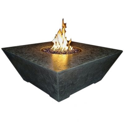 Athena Olympus Square Fire Table