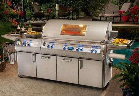 freestanding gas grills