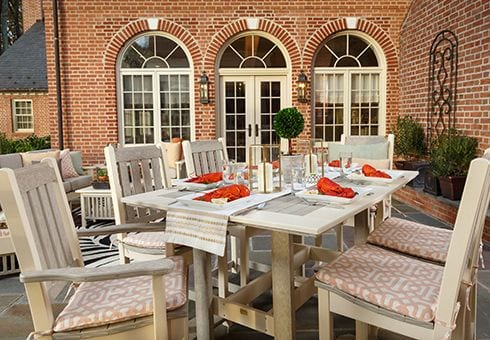 outdoor kitchen dining furniture