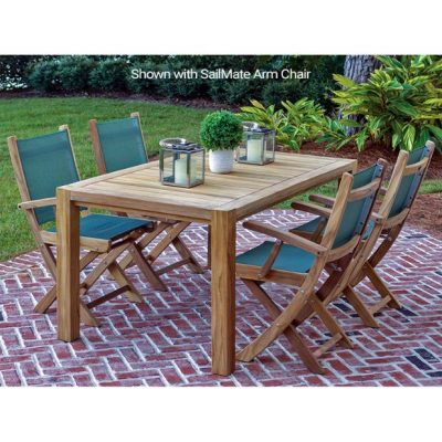 Royal Teak Collection 5-Piece 63-Inch Dining Set