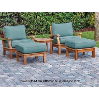 Royal Teak 5-Piece Miami Conversation Set