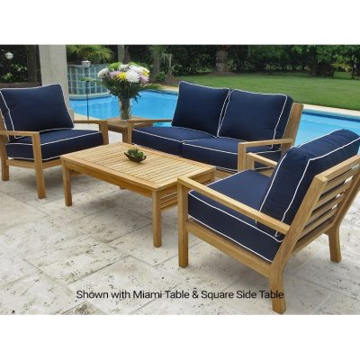 Royal Teak Collection 5-Piece Coastal Conversation Set