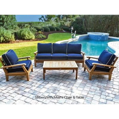Royal Teak 4-Piece Conversation Set