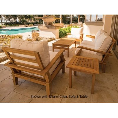 Royal Teak 6-Piece Miami Conversation Set