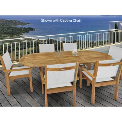 Royal Teak 7-Piece Captiva Dining Set