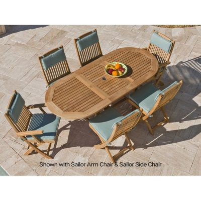 Royal Teak 7-Piece Sailor Dining Set