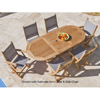 Royal Teak 7-Piece SailMate Dining Set